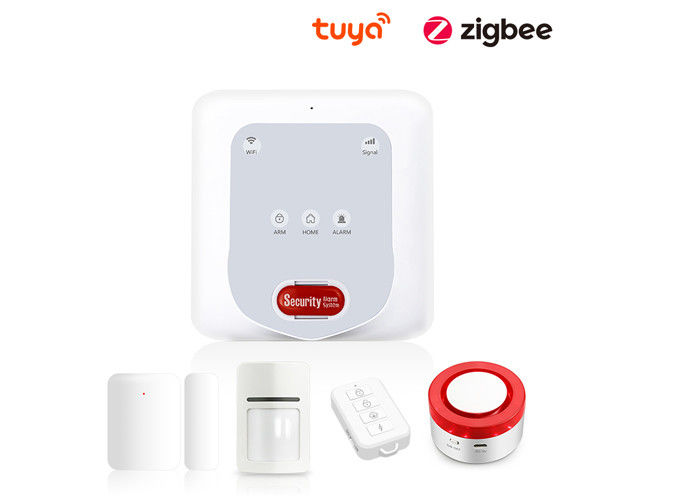 50 Zones Wireless Security Alarm System Volume Adjustable CE FCC RoHS Certificated